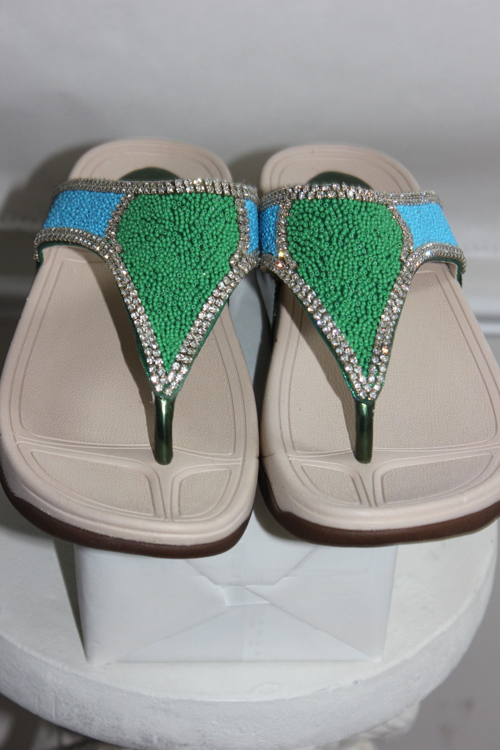 New Cushioned Multi Flip Flop Sandal Slippers Shoes Size 41
